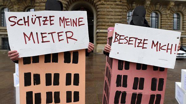 Гамбург: протесты арендаторов