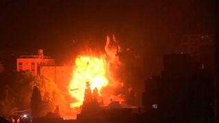Netanyahu ordena ataques masivos en la Franja de Gaza