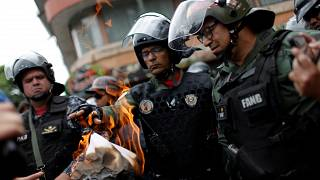 Венесуэльские военные – в центре внимания