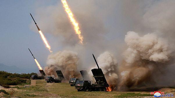 کره شمالی تایید کرد: چند موشک را با نظارت کیم جونگ-اون شلیک کردیم