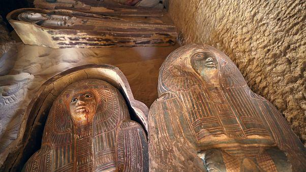 کشف دو مقبره ۴۵۰۰ ساله در مصر