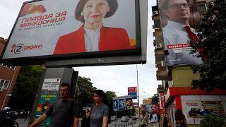 صور مرشحين في انتخابات مقدونيا الشمالية