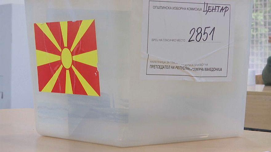 Второй тур президентских выборов в Северной Македонии