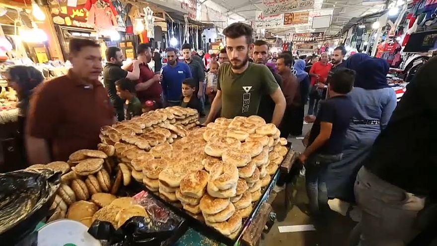 أحد أسواق الموصل