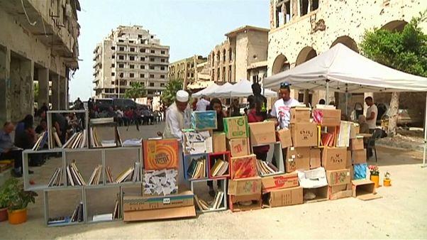 Una fiera di libri tra le macerie di Bengasi
