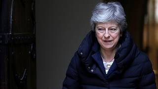 Britain's Prime Minister Theresa May in Sonning, Britain, May 5, 2019