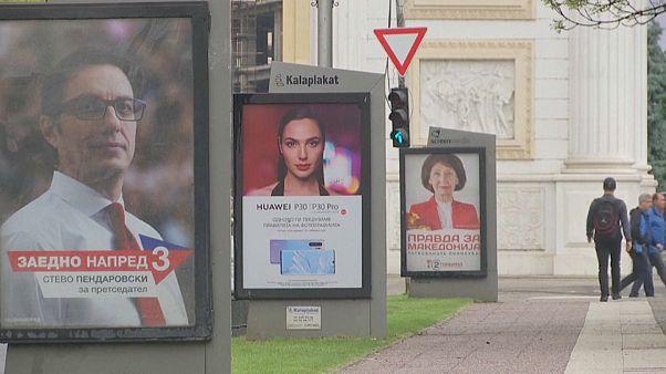 Elnököt választanak Észak-Macedóniában