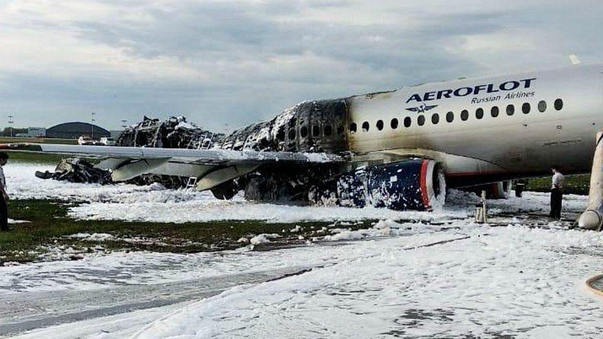 صورة للطائرة المحطمة