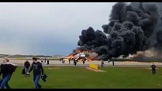 Russia's Sukhoi passenger plane makes emergency landing, May 5, 2019