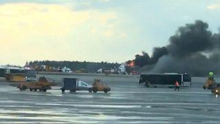 Tűz ütött ki egy orosz szuperjeten