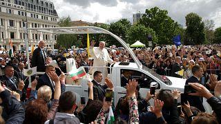 12.000 Menschen bei Papst-Messe in Sofia