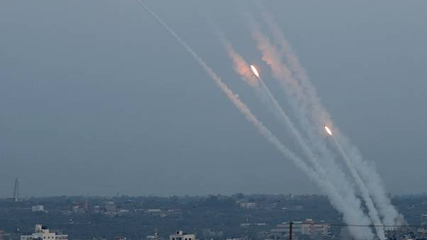 Rocket fire over Gaza as hopes grow for a ceasefire