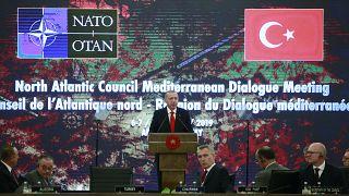 Cumhurbaşkanı Erdoğan, NATO Akdeniz Diyaloğu Ortakları Toplantısı'nda