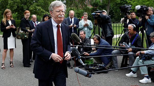 ناو لینکلن در راه خلیج فارس؛ بولتون: واکنش ما به حمله ایران بیرحمانه است