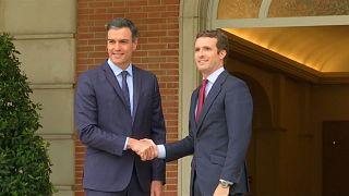 Casado se abre a Pactos de Estado con Sánchez