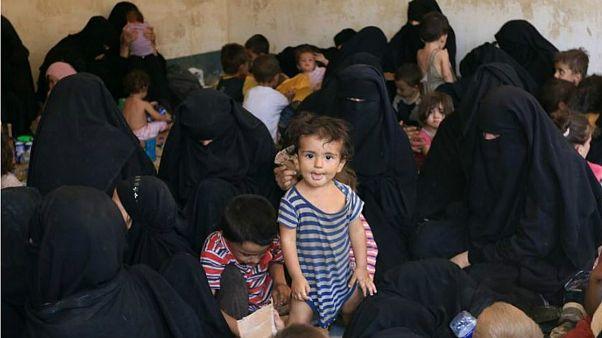 خانواده اعضای داعش و کودکان آنان در عراق