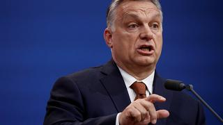 Orbán Viktor beszél