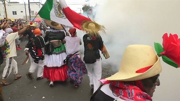 Mexicans re-enact victory over France celebrated as Cinco de Mayo