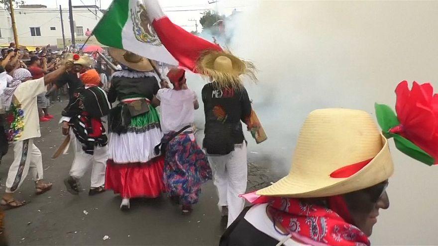 پیروزی نمادین سربازان مکزیکی بر ارتش فرانسه در مکزیکو سیتی