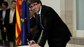 المحكمة الإسبانية العليا تلغي حظر ترشّح بودغمون للانتخابات الأوروبية