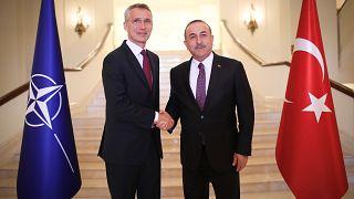 NATO Genel Sekreteri Türkiye'ye ziyarette bulundu.