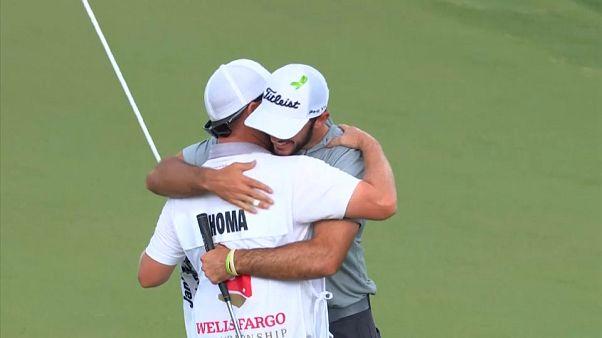 Golf: lo statunitense Max Homa vince il Wells Fargo International