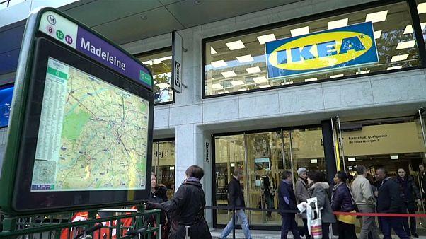 إيكيا تفتتح أول متجر في باريس