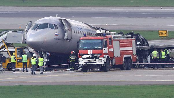 Desastre com avião em Moscovo pode ter sido erro humano