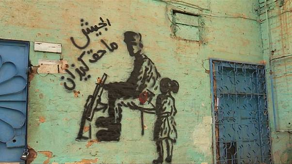 Graffiti represents political struggles for Sudanese artists