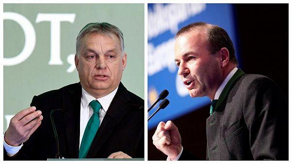 Orbán: Weber megsértette a magyarokat, nem támogatjuk
