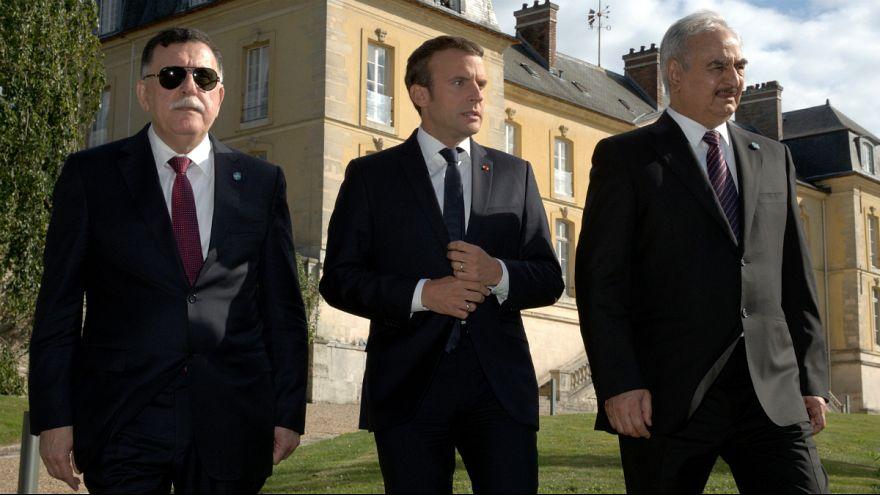 سفر اروپایی نخست وزیر لیبی همزمان با حمایت آشکار فرانسه از خلیفه حفتر