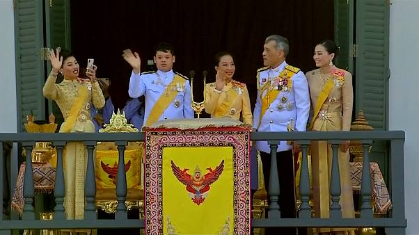 Thai King's coronation celebrated with 300 drone light show