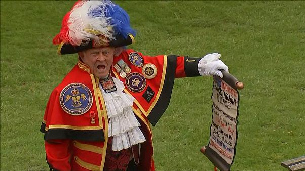 'Well done, Meghan' — town crier announces royal baby's birth