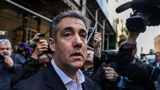 Michael Cohen left home for jail