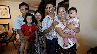 Мьянма освободила журналистов