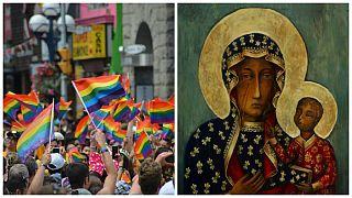 زن لهستانی به اتهام تلفیق تصویر «مریم مقدس» با پرچم همجنسگرایان بازداشت شد