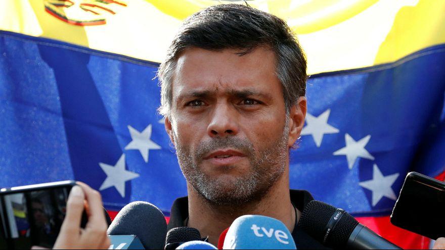 لئوپولدو لوپز از رهبران اپوزسیون ونزوئلا