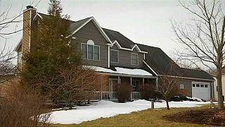 Image vidéo Reuters : maison du gourou Keith Raniere en procès à New York.