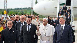 El papa defiende más integración de los Balcanes en Europa