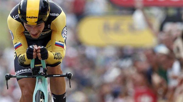 Primož Roglič, uno dei favoriti del Giro d'Italia