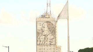 Monday would have been Eva Peron's 100th birthday