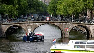 Autós tilalom Amszterdamban