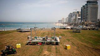 Tel Aviv ultima los preparativos de Eurovisión, a pesar de la escalada militar entre Gaza e Israel