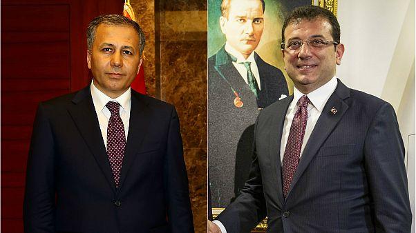 23 Haziran'a kadar İmamoğlu yerine İstanbul Valisi Ali Yerlikaya görev yapacak