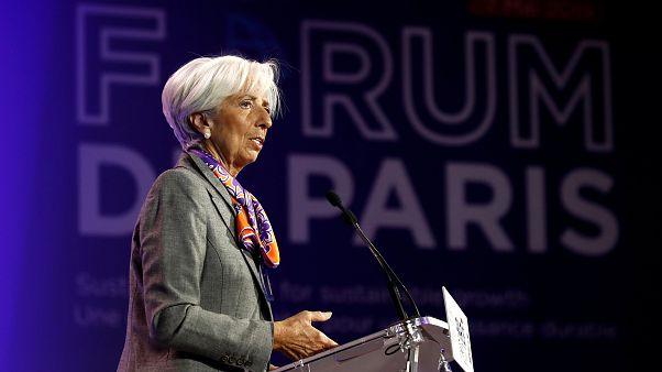 """Lagarde: """"Guerra dei dazi danneggia tutti"""""""