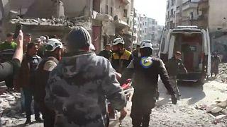 ابراز نگرانی ماکرون از وخامت اوضاع انسانی در ادلب