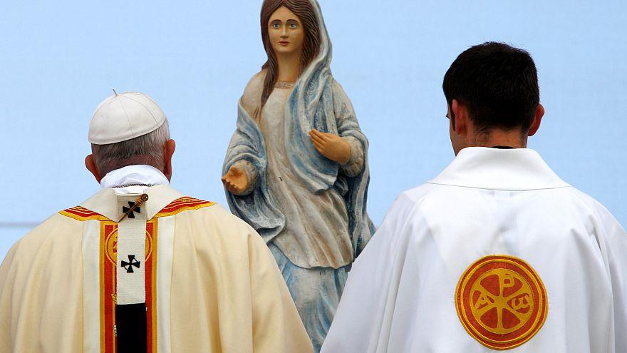 Папа Франциск посетил Северную Македонию