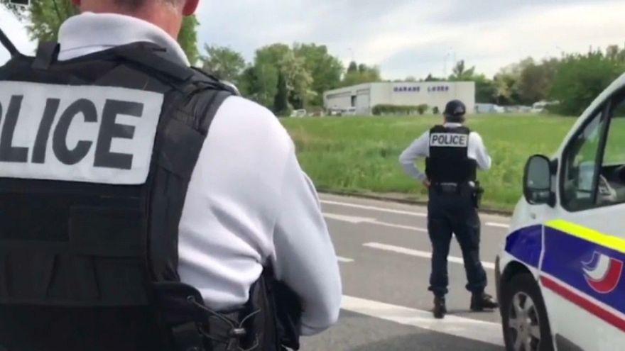 Захвативший заложников вблизи Тулузы задержан