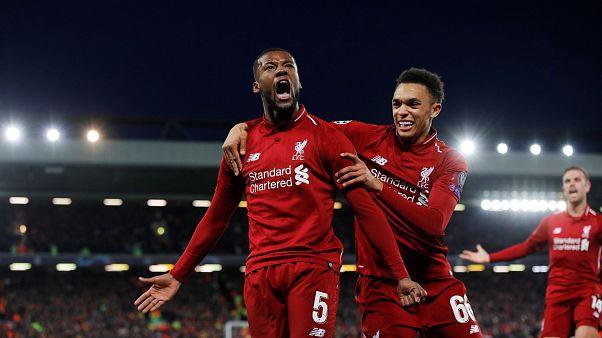 Liverpool Şampiyonlar Ligi yarı final ikinci maçında Barcelona'yı 4-0 yenerek finale yükseldi