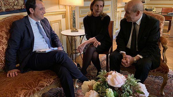 Στήριξη της Γαλλίας προς την Κύπρο για ΑΟΖ και Κυπριακό